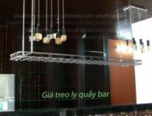 Treo ly quầy bar